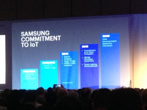 IoTWorld2015 SFO Samsung